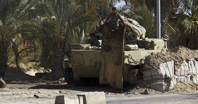 President: Egypt faces long fight to defeat Sinai militants