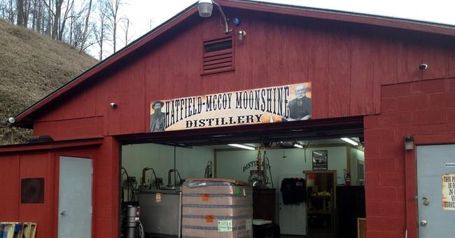 Hatfields, McCoys make moonshine legally in southern W.Va.