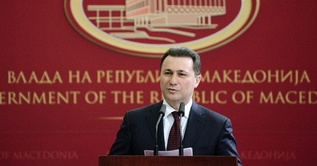 Macedonia opposition leader accused of organizing a coup