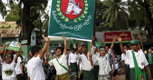 US seeks validation of democratic reforms as Myanmar votes