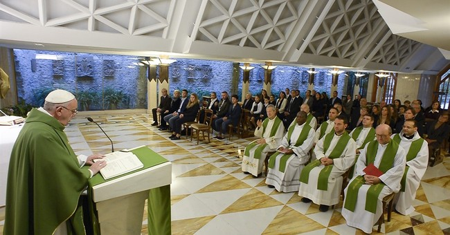 Pope: It's sad to see priests, bishops 'attached to money'