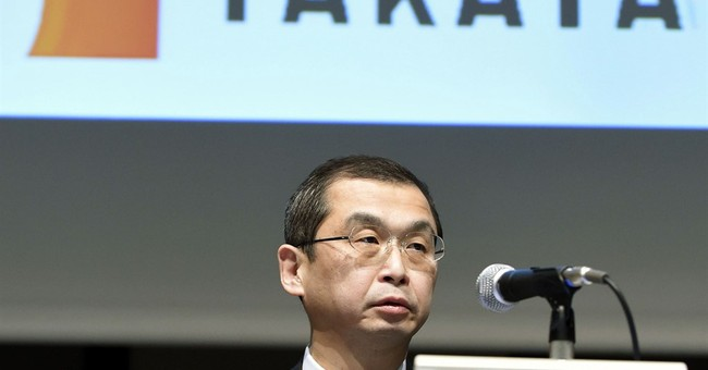 Japan air bag maker Takata reports $46 million loss