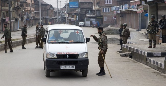 Security tightened sharply in Kashmir ahead of Modi's visit
