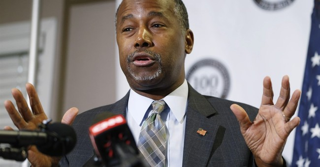 Defiant Carson: Questions about West Point story are unfair