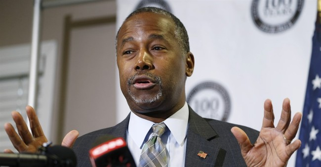 Carson defends West Point story, calls news media 'unfair'