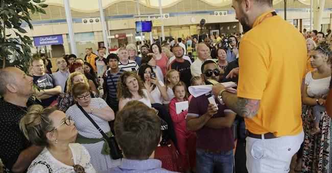 The Latest:  Alitalia tightens security in Cairo airport