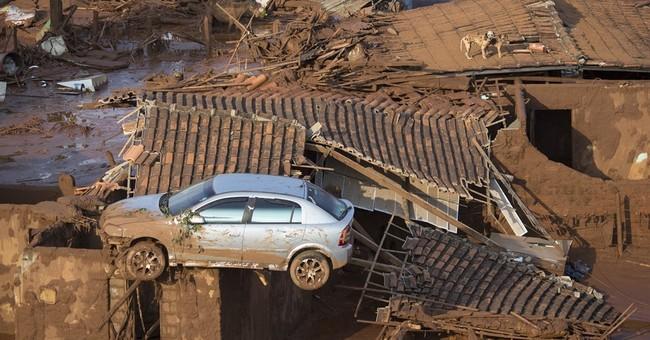 Sound of dams bursting in Brazil sent residents running