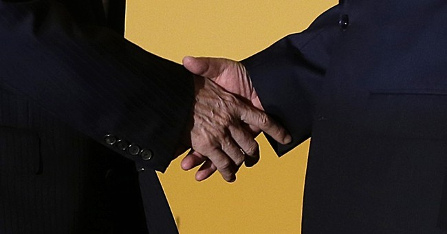 A China-Taiwan handshake, 66 years in the making
