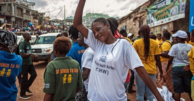 Sierra Leone declared free of Ebola, as Guinea struggles