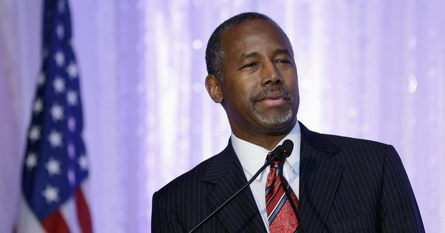 Carson: Questions on background aren't 'real' scandals