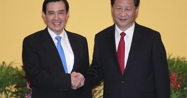 A China-Taiwan handshake, 66 years in the making