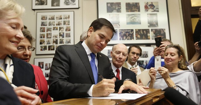 Rubio releases GOP charge card statements from 2005-06