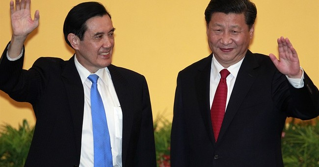 The Latest: China, Taiwan leaders end historic meeting