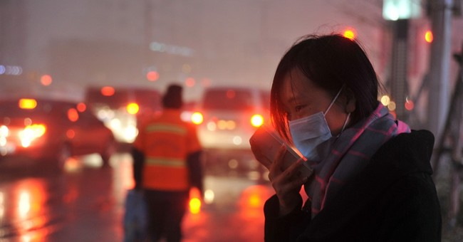 Heavy smog shrouds northeastern China as winter begins
