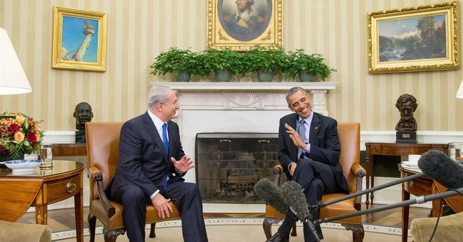 Obama, Netanyahu minimize differences, renew call for peace