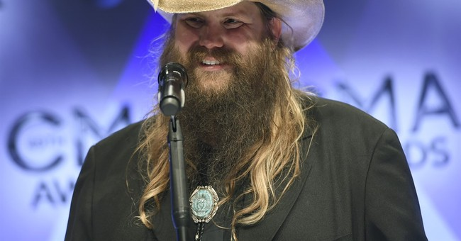 After CMAs performance, Chris Stapleton tops Billboard chart