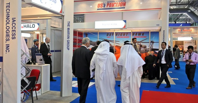 Small US businesses wooing big players at Mideast airshow