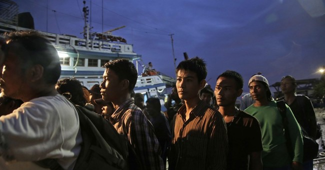Thai police arrest agent, say he misled fishing-boat workers