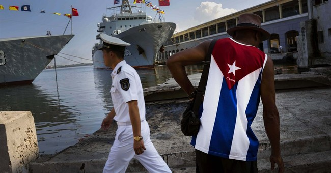 3 Chinese warships arrive at Cuban port for visit