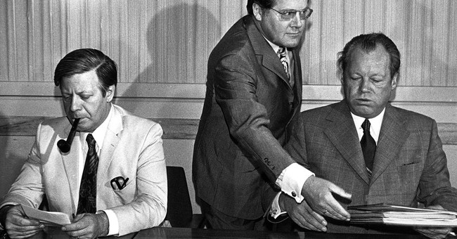 Former West German Chancellor Helmut Schmidt dies at age 96