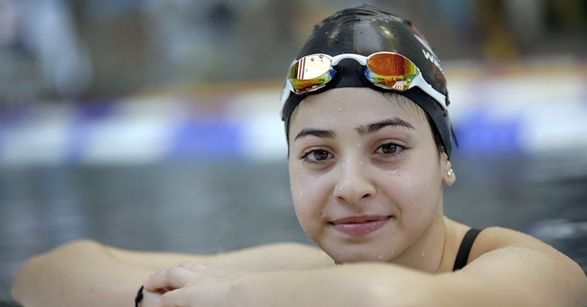 Syria's swimming sisters find new home in German waters