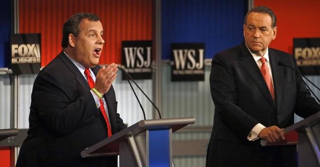 Christie focuses attacks on Clinton in GOP undercard debate