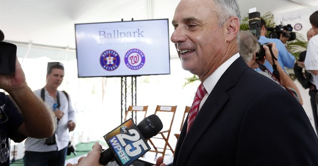 Manfred hopeful for Cuba game; owners to discuss netting