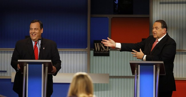 The Latest: GOP presidential candidates meet for 4th debate