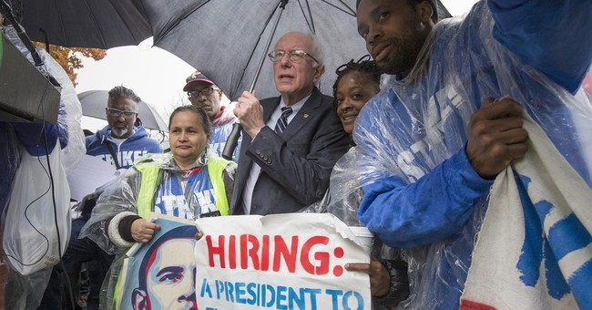 Fast food protesters set sights on presidential candidates