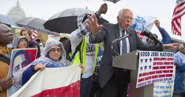 Capitol Hill Buzz: Sanders rallies Capitol workers over pay