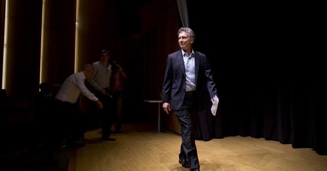 Argentine election front-runner criticizes leftist gov'ts