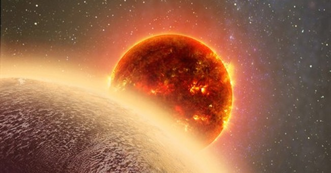 Venus' twin? Earth-size planet is hot, may have atmosphere