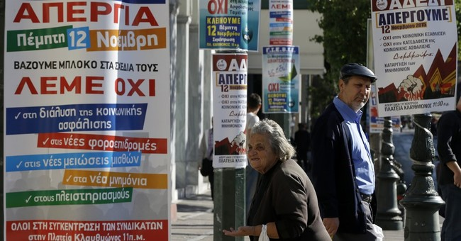 Greece gears up for 1st general strike under new government