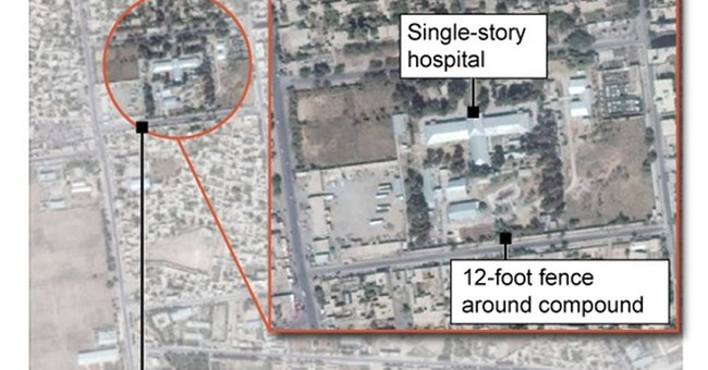 US troops didn't have eyes on Afghan hospital before attack