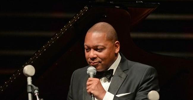 Jazz great Wynton Marsalis honored for humanitarian work