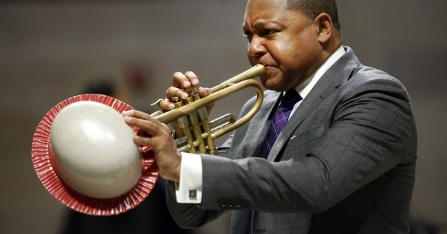 Jazz great Wynton Marsalis honored for humanitarian work