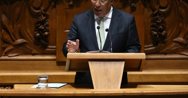 Portugal's Socialist leader says he's ready to take power