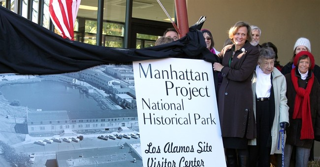 New Mexico community marks opening of Manhattan Project park