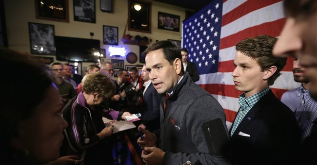 Bush focuses on Clinton while Rubio presses on after debate