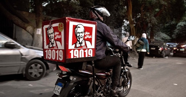 Correction: KFC-Delivery story
