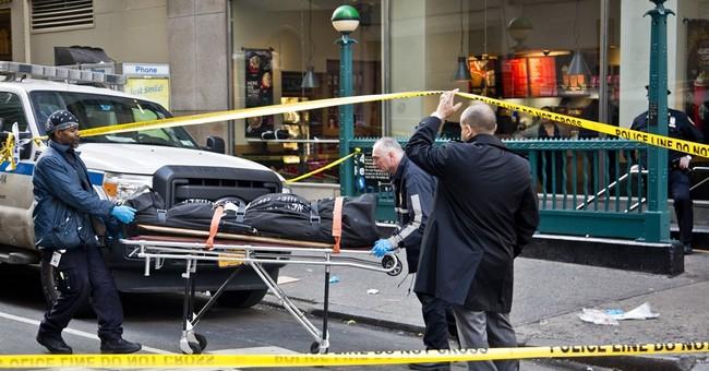 Suspect in custody in fatal shooting near NYC's Penn Station