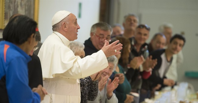 Pope steady despite a crazy, messed up month of scandal