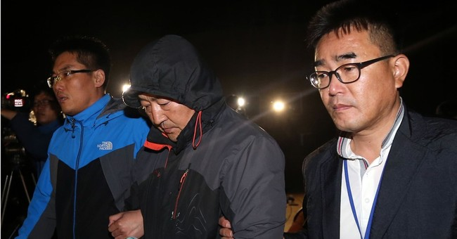 South Korean court upholds life sentence for ferry captain