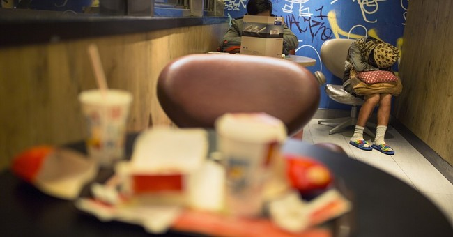AP PHOTOS: Lonely McDonald's death highlights 'McRefugees'
