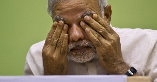 India's Prime Minister Modi faces revolt within party