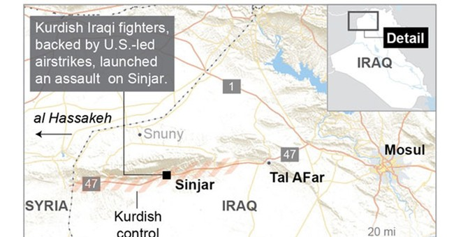 A look at the Iraqi town of Sinjar and why it's important