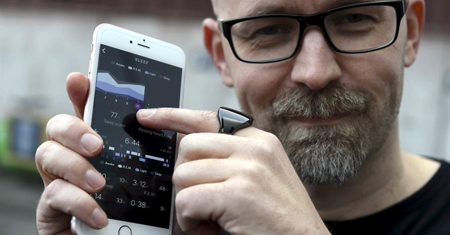 Rings and pacifiers: Health gadgets get sophisticated