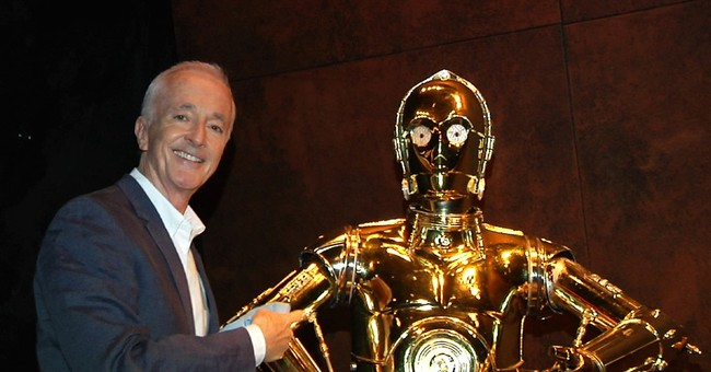 C-3P0 actor Anthony Daniels on playing the 'Star Wars' droid