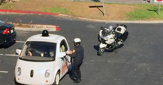 Police stop Google self-driving car for going too slowly