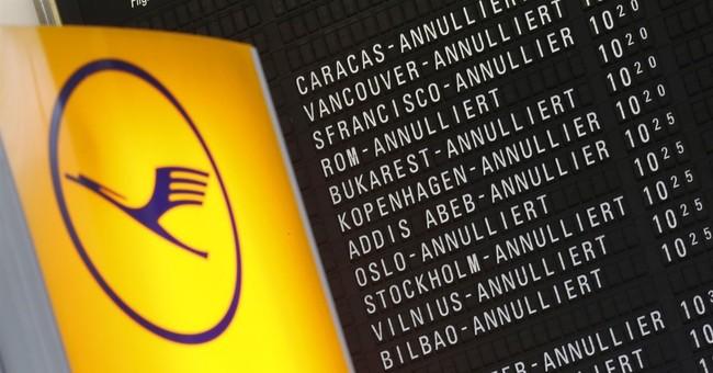 German airline Lufthansa cancels 941 flights due to strike